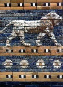 Ishtar Gate [Public Domain via Wikipedia]