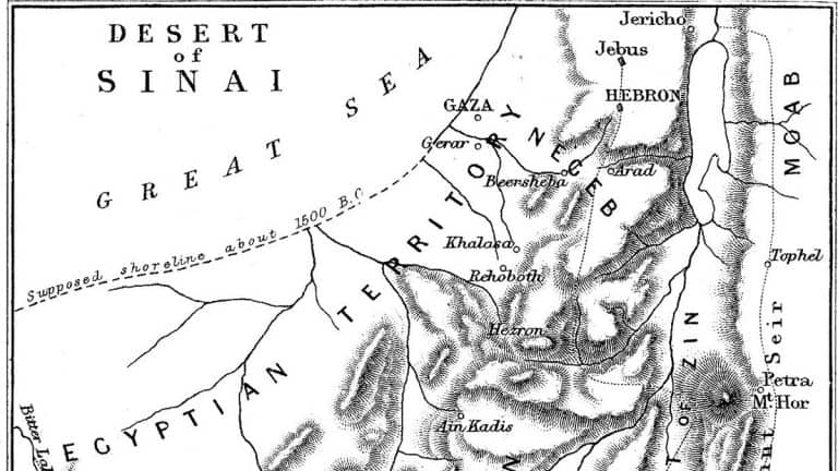 Primer on Bible Geography by Claude Conder