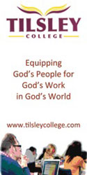 Tilsley College: Equipping God's People for God's Work in God's World