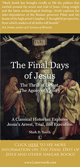 Advertisement - Final Days of Jesus - Mark D. Smith