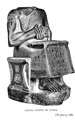 Sitting Statue of Gudea [op. p.122]