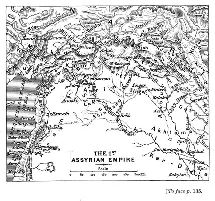 The 1st Assyrian Empire [op. p.135]
