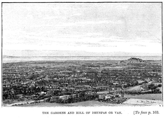 The gardens and hill of Dhuspas or Van [op. p.163]